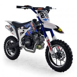 Cobra 4S 50cc 62cm Blue Kids Mini Dirt Bike