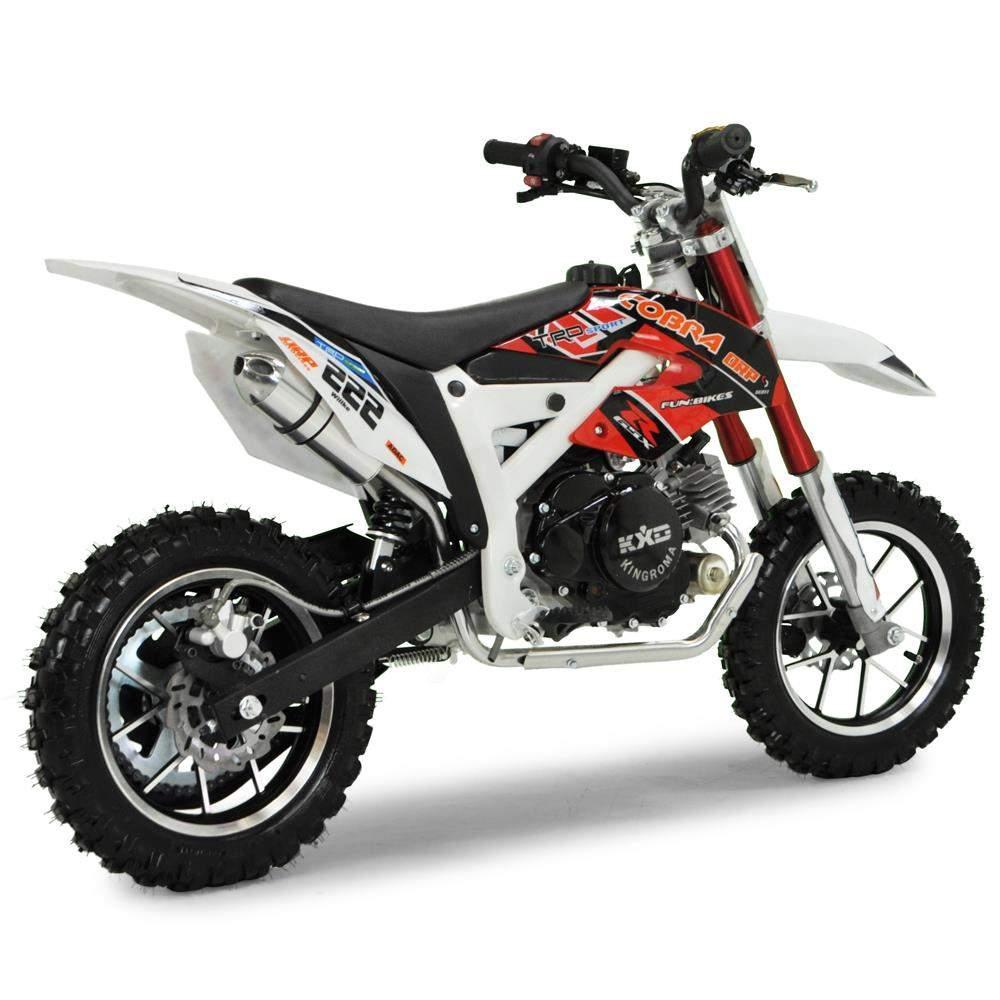 Cobra 4s 50cc 62cm Red Kids Mini Dirt Bike Fics Motorcycles