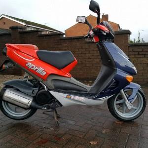 2000 APRILIA SR 125cc