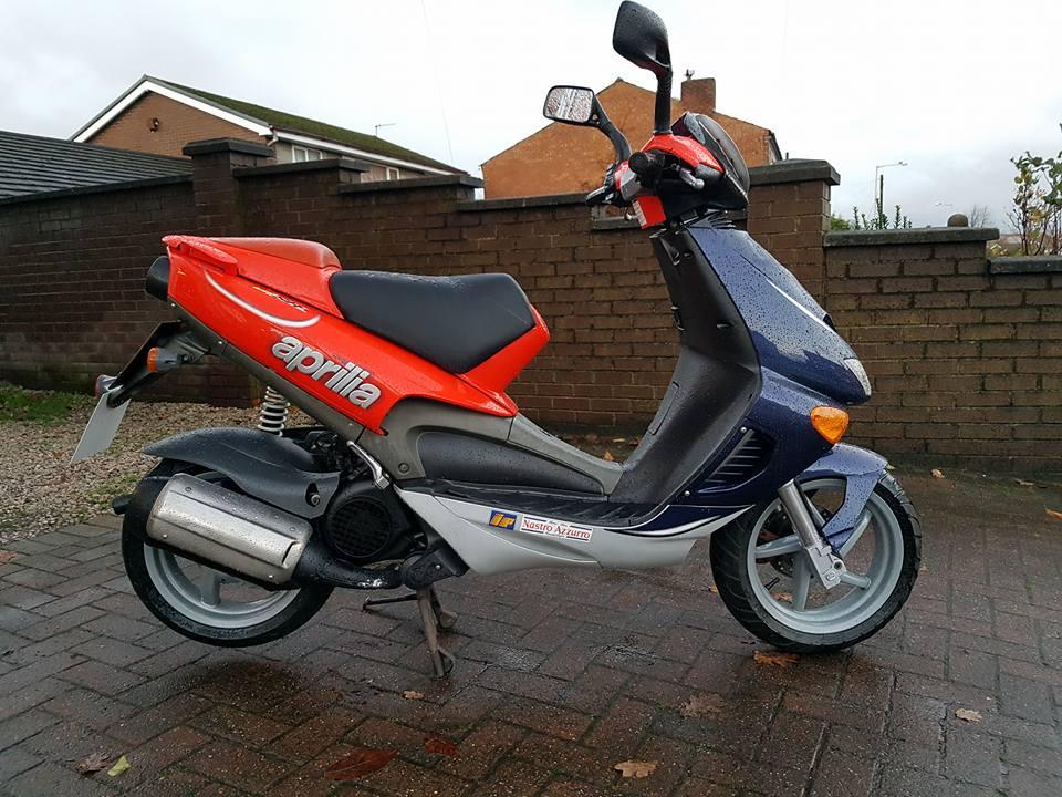 2000 APRILIA SR 125cc | Fics Motorcycles