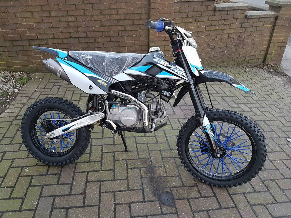 2017 Stomp Z3 140 R Fics Motorcycles