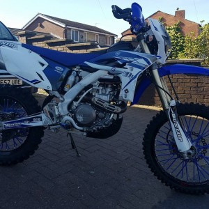 2013 WRF 450F IN EXCELLENT CONDITION