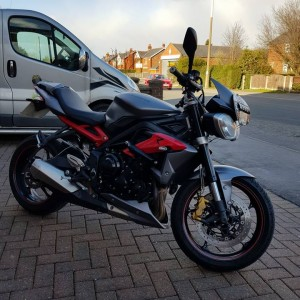 2013 TRIUMPH SPEED TRIPLE 675 R