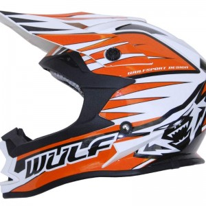 Wulfsport Advance Helmet Orange