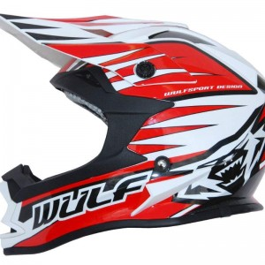 Wulfsport Advance Helmet Red