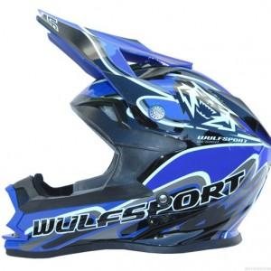 Wulfsport Cub K2 Helmet Blue