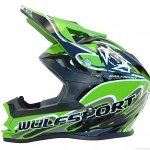 Wulfsport Cub K2 Helmet Green
