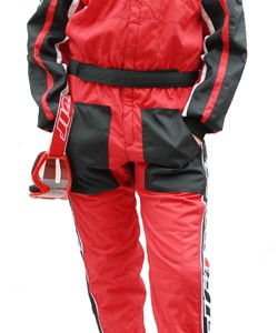 Wulfsport Car Racing Suit Red