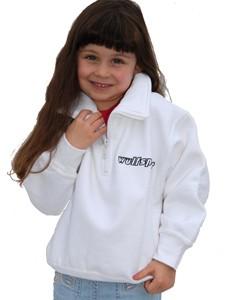 Wulfsport Cub 1/2 Zip Sweater White