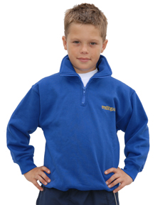 Wulfsport Cub 1/2 Zip Sweater Blue