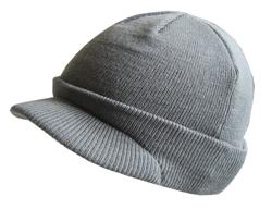 Wulfsport Cub Knitted Peak Hat Grey