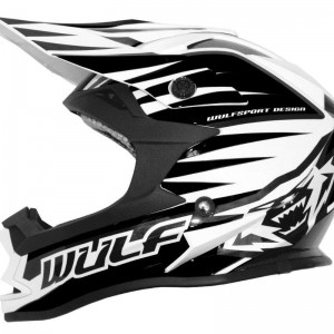Wulfsport Advance Helmet Black