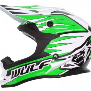 Wulfsport Advance Helmet Green