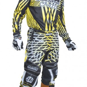Max Equipe V-16 Race Pants Yellow