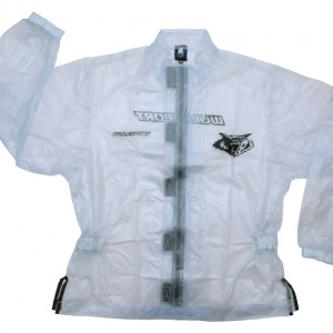 Wulfsport Waterproof Jacket and Pants Clear