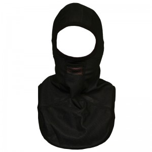 Rayven Black Balaclava Chest Warmer