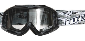 Wulfsport Cub Abstract Goggles Black