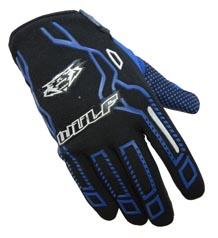 Wulfsport Cub Force Gloves Blue
