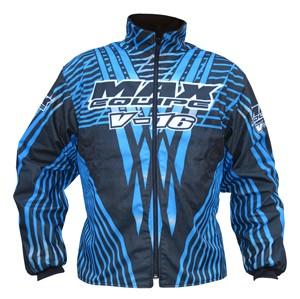 Max Equipe V-16 Jacket Blue