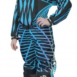 Max Equipe Kids V-16 Race Pants Blue