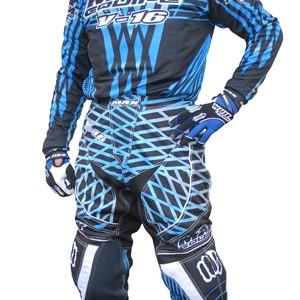 Max Equipe V-16 Race Shirts Blue