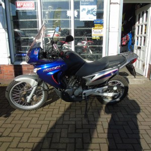 HONDA TRANSALP – 55 PLATE – ONLY 45662 MILES – NOW SOLD!