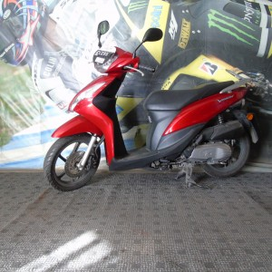 HONDA VISION 50cc – 2012 – ONLY 3782 MILES
