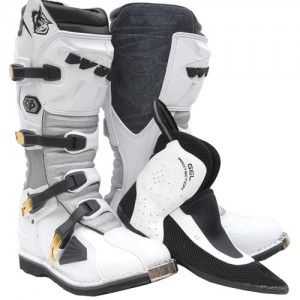 Wulfsport GP Boot (with inner bootee) White