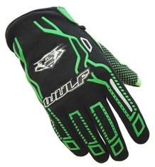 Wulfsport Cub Force Gloves Green