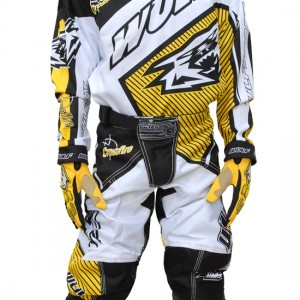 Wulfsport Crossfire Cub Race Shirts Yellow