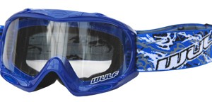 Wulfsport Cub Abstract Goggles Blue