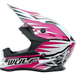Wulfsport Cub Advance Helmet Pink