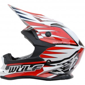 Wulfsport Cub Advance Helmet Red