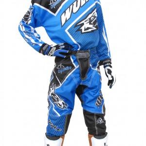 Wulfsport Crossfire Cub Race Shirts Blue