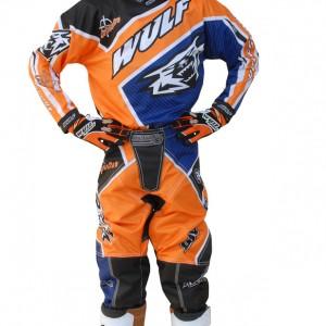 Wulfsport Crossfire Cub Race Shirts Orange