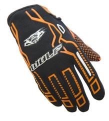 Wulfsport Cub Force Gloves Orange