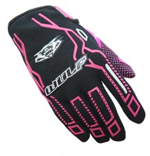 Wulfsport Cub Force Gloves Pink