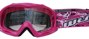 Wulfsport Cub Abstract Goggles Pink