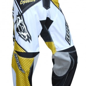 Wulfsport Crossfire Race Pants Yellow and Black