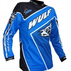 Wulfsport Crossfire Race Shirts Blue