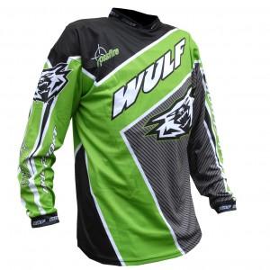 Wulfsport Crossfire Race Shirts Green