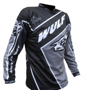 Wulfsport Crossfire Race Shirts Black
