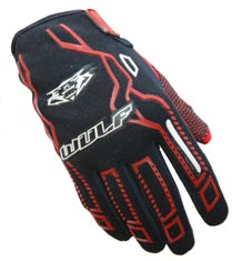 Wulfsport Cub Force Gloves Red
