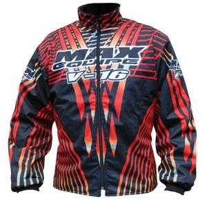 Max Equipe V-16 Jacket Red