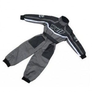 Wulfsport Car Racing Suit Grey