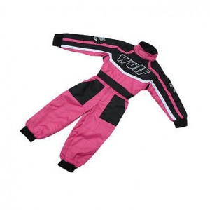 Wulfsport Car Racing Suit Pink