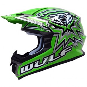 Wulfsport Libre-X Helmet Green