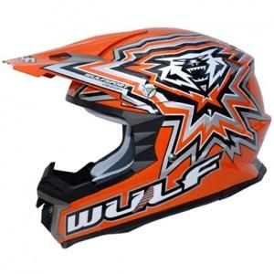 Wulfsport Libre-X Helmet Orange