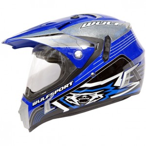 Wulfsport Prima-Speed Helmet Blue