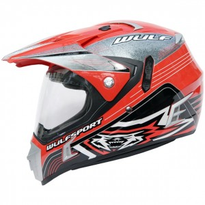 Wulfsport Prima-Speed Helmet Red